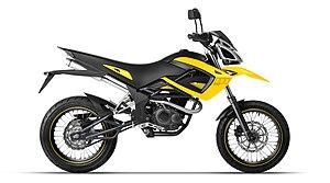 Megelli Motorcycles - 125 cc Megelli 125M Motard