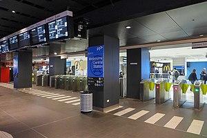 Melbourne Central railway station - Station entry gate
