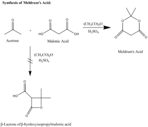 Meldrum's acid - The synthesis of Meldrum's acid.