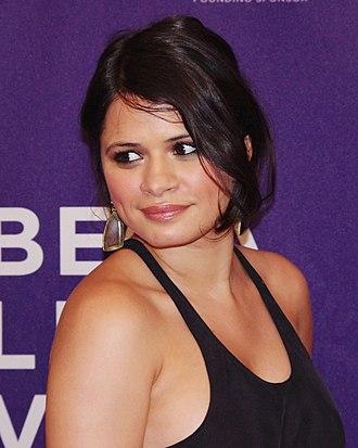 Melonie Diaz - Diaz at the 2012 Tribeca Film Festival