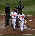 Melvin Mora and Dave Trembley argue-1.jpg