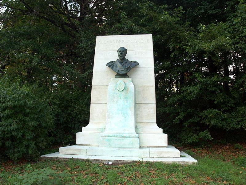 File:Memorial to Alexander Skene in Grand Army Plaza.JPG