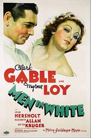 Men in White (1934 film) - original film poster