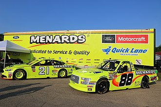 Menards - Menards NASCAR display