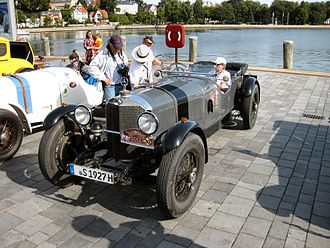 Mercedes-Benz S-Series - 1927 Model SS racer