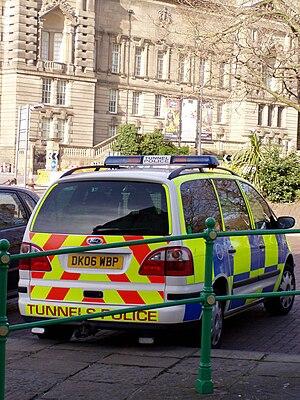 Mersey Tunnels Police - Mersey Tunnels Police Ford Galaxy