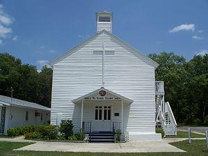 John William Pearson - Image: Meth Episc Church Orange Springs 01