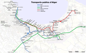 Metro, suburban train and tramway map of Algiers.png
