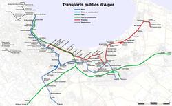 ঔترامواي الجزائر«ੲੜ 250px-Metro,_suburban_train_and_tramway_map_of_Algiers.png