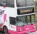 Metro (Belfast) bus 2977 (EEZ 2977) 2005 Volvo B7TL Alexander Dennis ALX400, 25 February 2010 (2).jpg