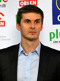 Michał Bąkiewicz former Polish volleyball player