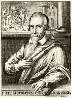 Michael Servetus Spanish physician and theologian