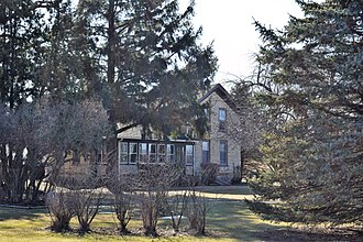 National Register of Historic Places listings in Jefferson County, Wisconsin - Image: Michael and Margaritha Beck Farmstead, farmhouse