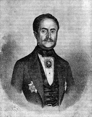 Mihail Sturdza - Mihail Sturdza; portrait by  Ion Negulici.