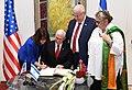 Mike Pence visit at Beit HaNassi, January 2018 (3559).jpg