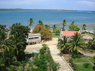 Mikindani bay from boma.jpg