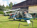 Mil Mi-24A Hind-B at Central Air Force Museum pic1.JPG