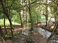 Milešovský potok, v lese pod Oparnem (001).JPG