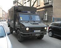 Military Iveco in Kraków