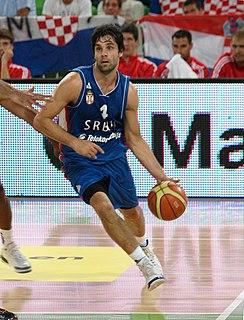 Miloš Teodosić Serbian basketball player