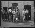 Miners going into lamp house to get their safety lamps. U.S. Coal and Coke Company, Gary Mines, Gary, McDowell... - NARA - 540799.tif