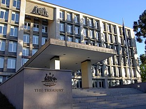 Treasurer of Australia - The Department of the Treasury, Canberra