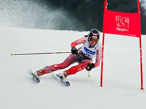 Sport in Austria - Mirjam Puchner at the Austrian Junior Skiing Championships
