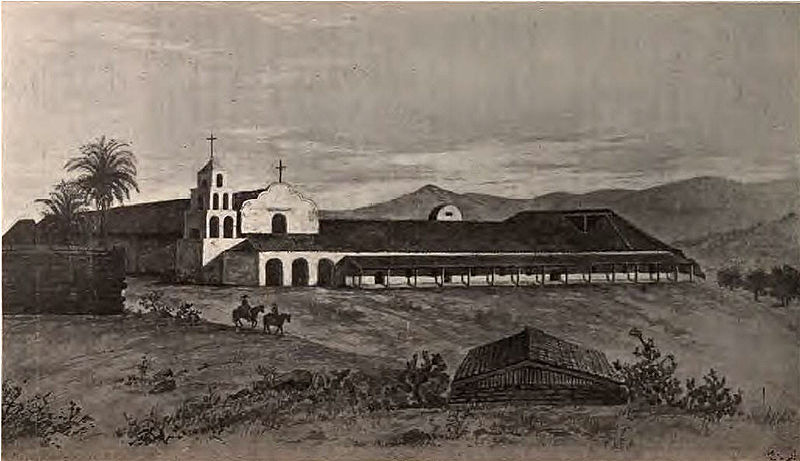 File:Mission San Diego de Alcala in 1848.jpg