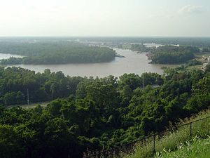 The Mississippi River at Vicksburg