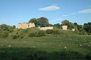 Mitford Castle - Image: Mitford Castle