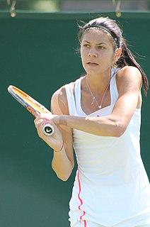 Andreea Mitu Romanian tennis player