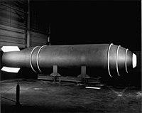 Одна из первых термоядерных бомб mark 17