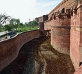 Moat - Agra Fort - Agra 2014-05-14 4036-4037.TIF