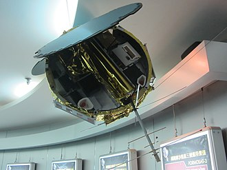 Constellation Observing System for Meteorology, Ionosphere, and Climate - Model of FORMOSAT-3.