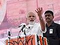Modi in Rewari, Haryana at ex-servicemen rally.jpg