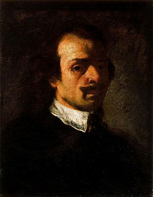 Pier Francesco Mola - Self-portrait