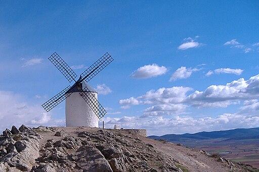 Molino de viento en Consuegra (Toledo)