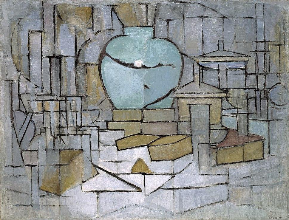 Mondrian, Still Life with Gingerpot II