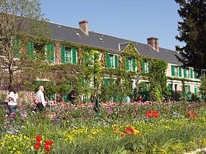 Giverny - Monet's house in Giverny, Normandy