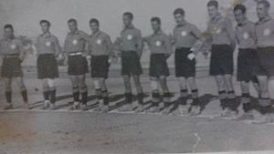 Al-Shorta SC - Montakhab Al-Shorta players lining up before a match in 1937.