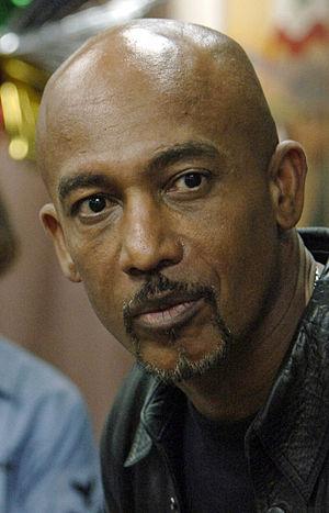 061205-N-8148A-074 - Montel Williams, a talk s...