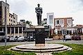 Monument of Zog I of Albania in Burrel 02.jpg