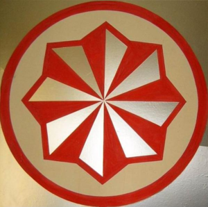 Mordvin native religion - Mordvin Native Faith symbol, also used as logo of the Erzyan Mastor.