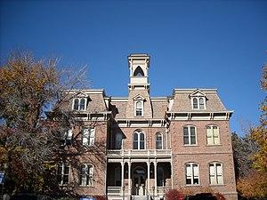 Morrill Hall (University of Nevada, Reno) - Image: Morrill Hall, 2008 11 08
