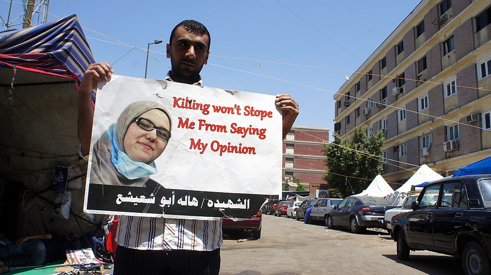 Morsi supporter after mass killings of 27-July-2013