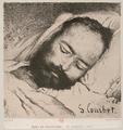 Mort de Proudhon by Courbet 20 January 1865.png