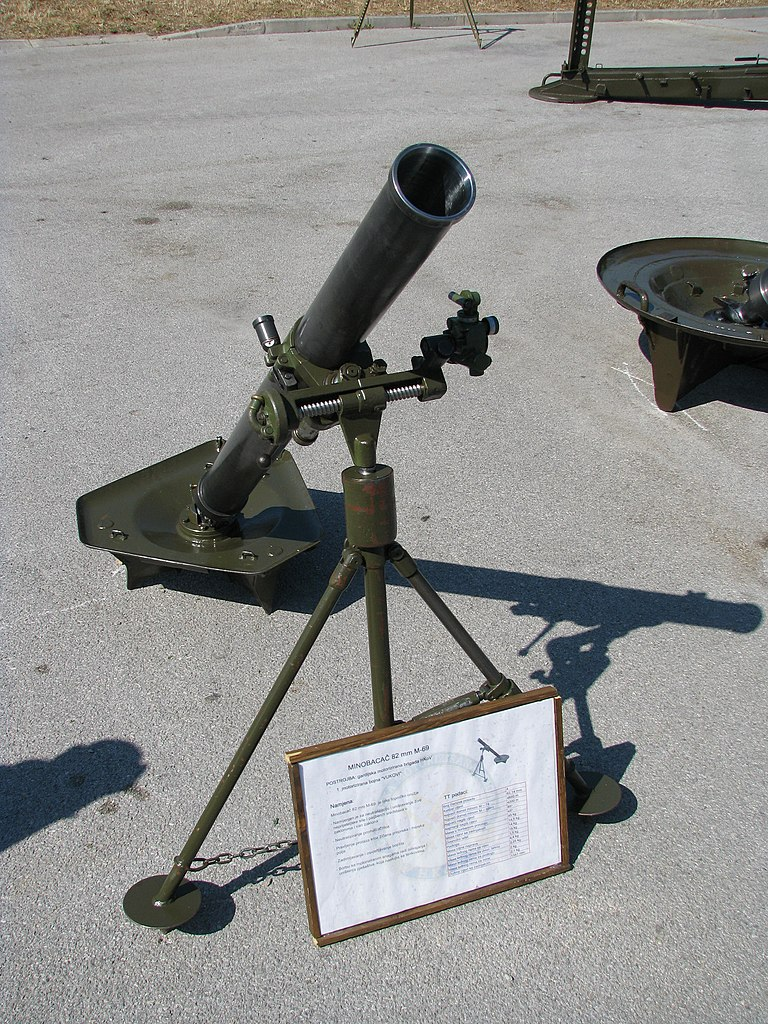 Military Mortar Sizes : File mortar mm m croatian army g wikimedia commons