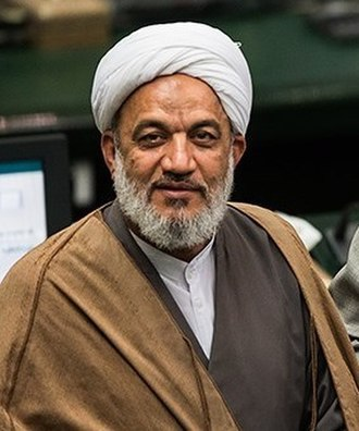 Morteza Agha-Tehrani - Morteza Agha-Tehrani in Iranian Parliament