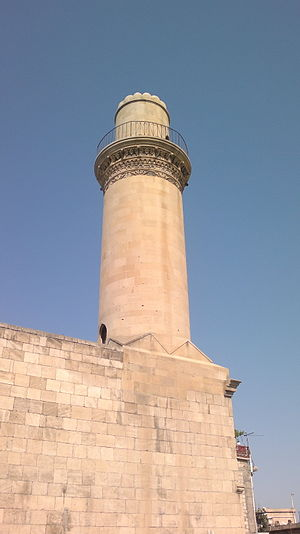 Islam in Azerbaijan - A Mosque in Baku.