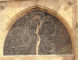 Sidi Saiyyed Mosque - Image: Mosque of Sidi Sayed Jaali